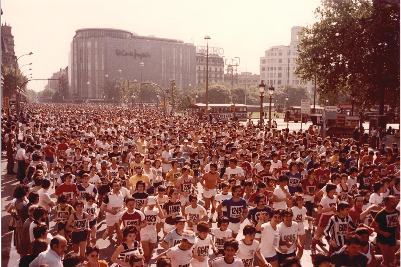 Cursa El Corte Inglés carrera Barcelona 1994