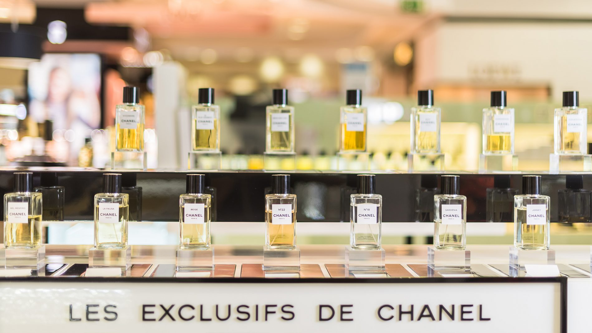 El Corte Inglés Castellana Chanel Fragrance Madrid