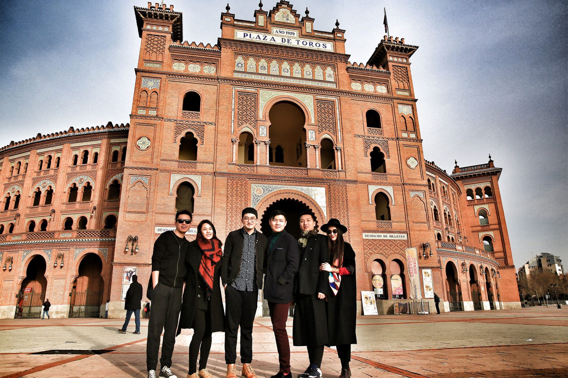 Bloggers M.O.K JINPENG ZHANG TAO LIANG MOLLY Chinese New Year Madrid