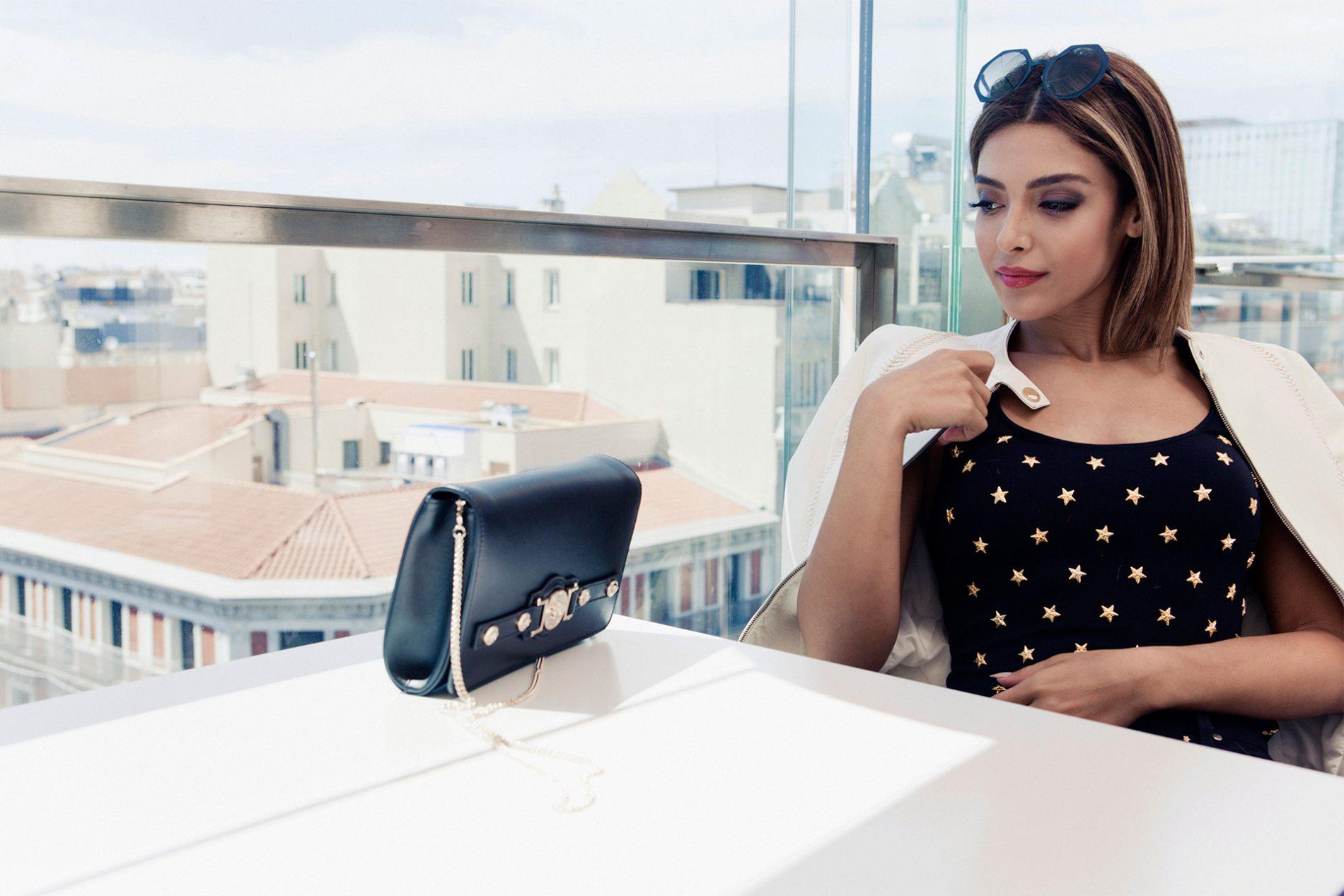 Yalda Golsharifi Blogger Gourmet Experience Serrano 52 Madrid Versace