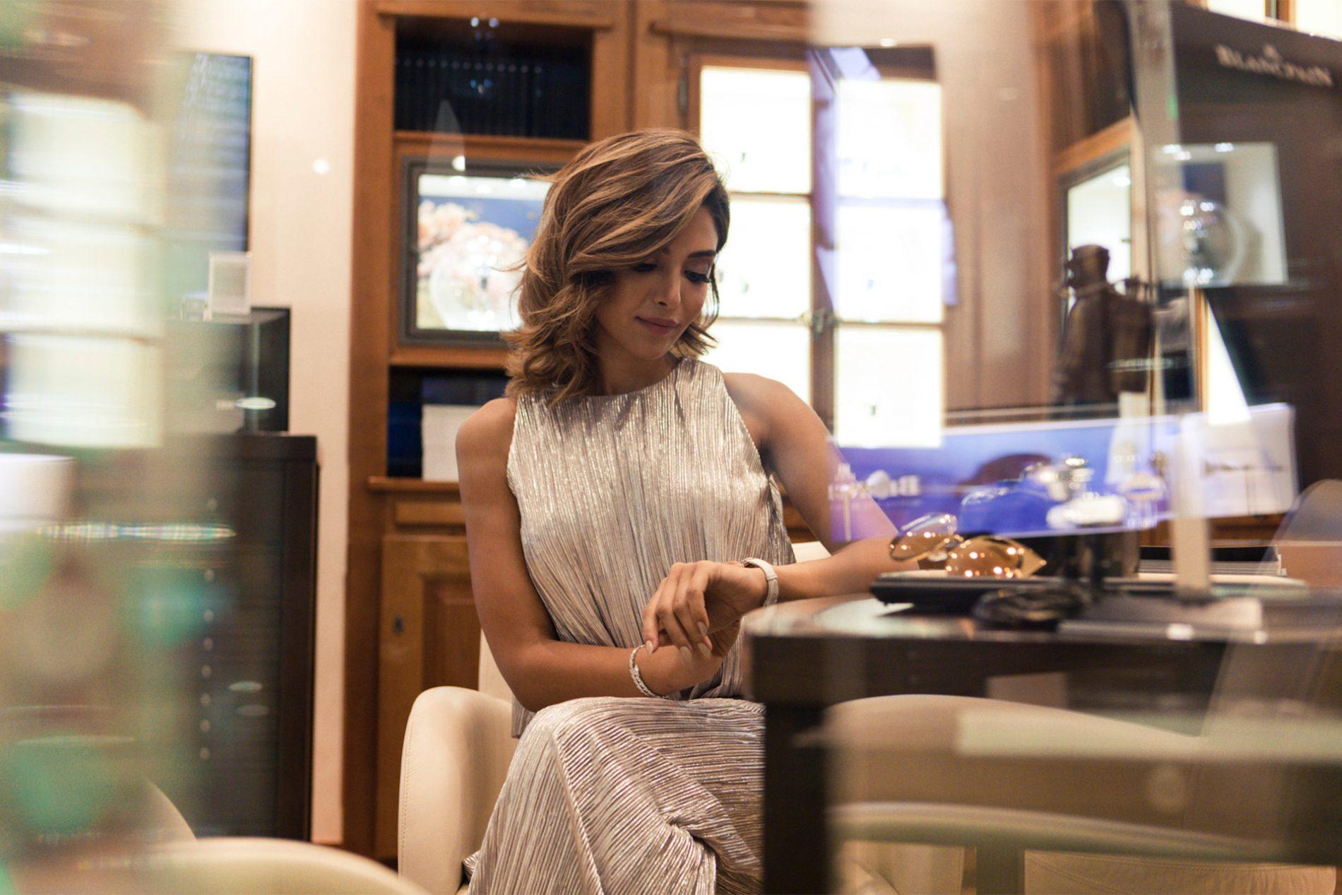 Yalda Golsharifi Blogger Luxury Watches Bulgari IWC Rolex Madrid