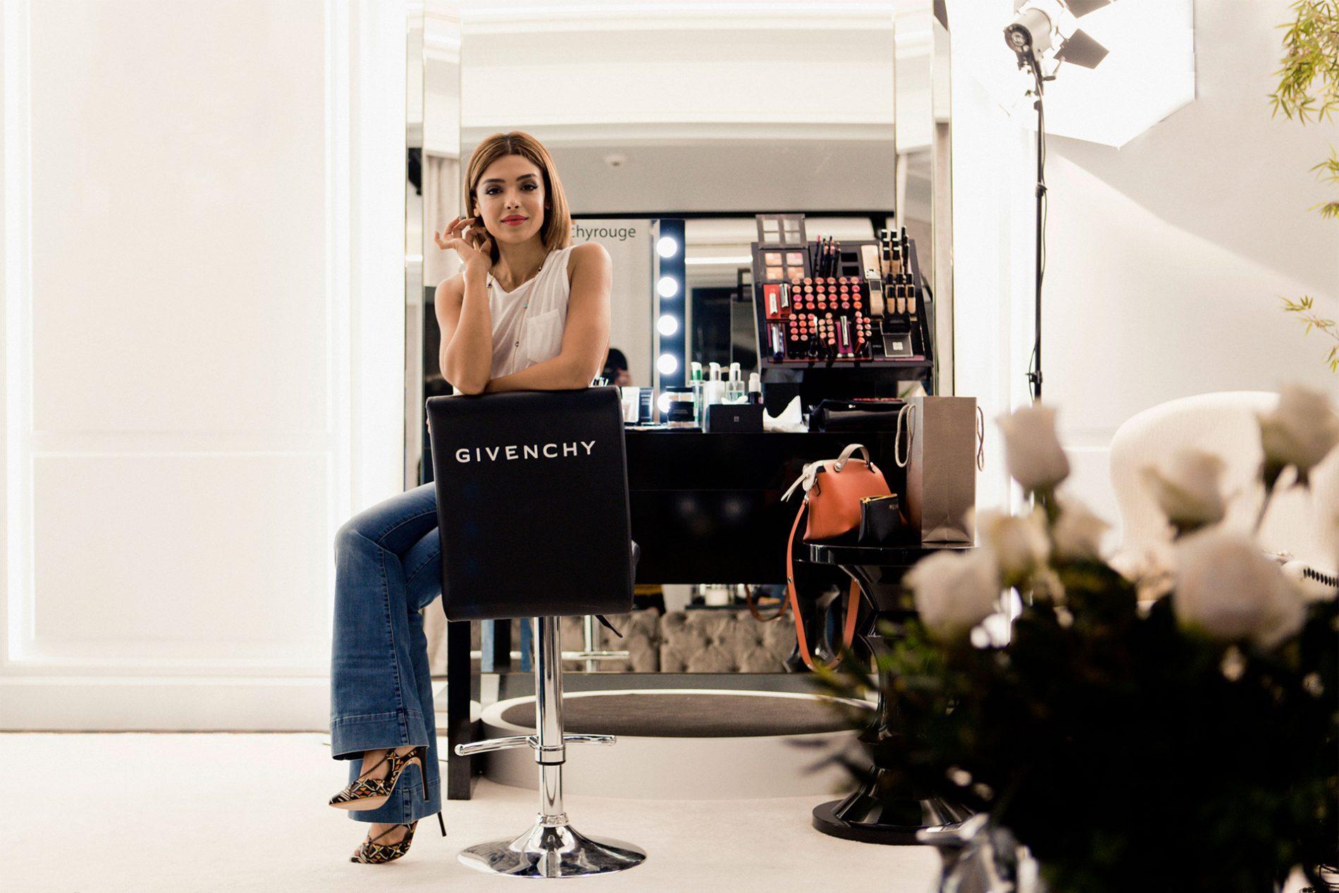 Yalda Golsharifi Blogger Givenchy Makeup Madrid