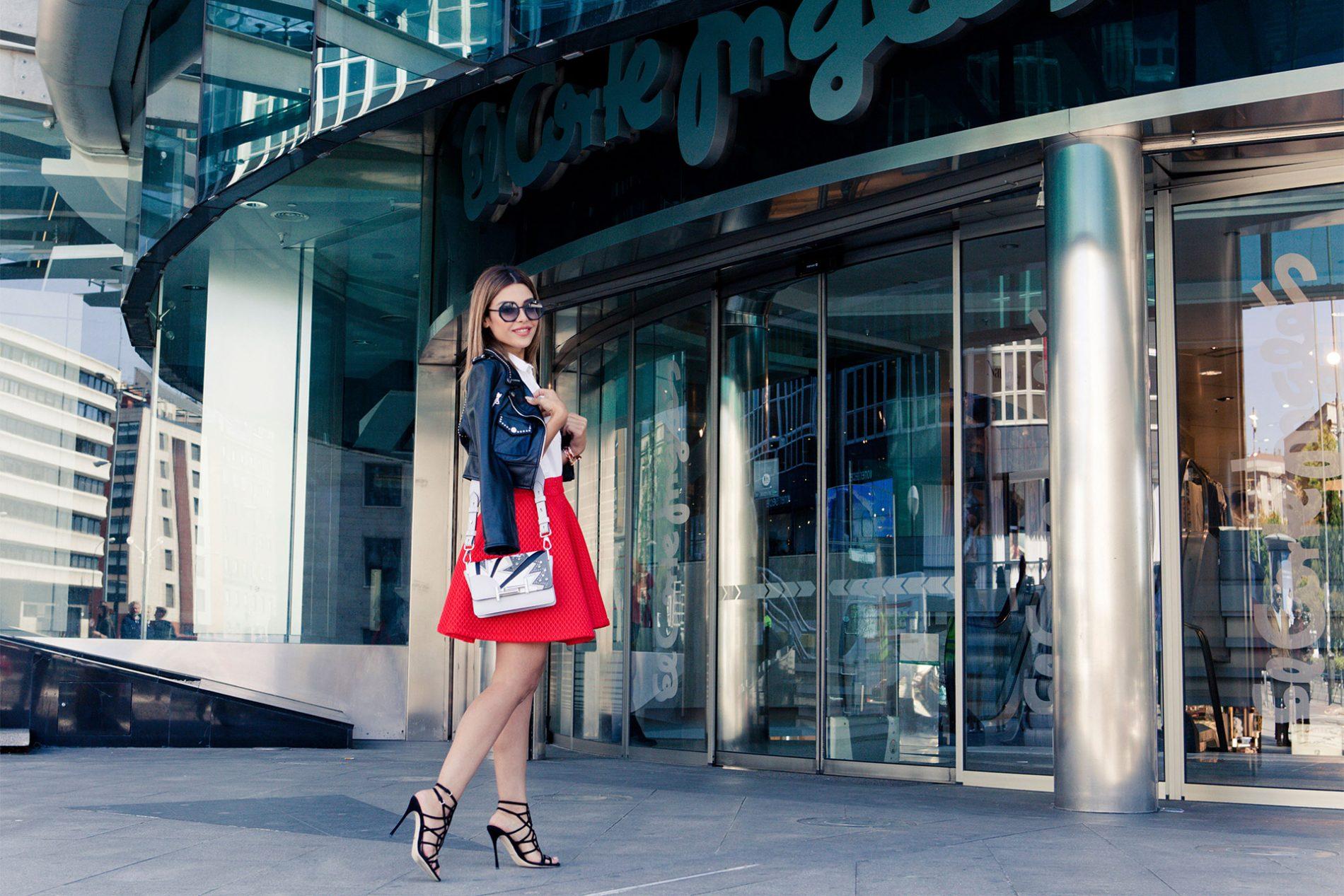Yalda Golsharifi Blogger Sergio Rossi Fendi Tods Madrid