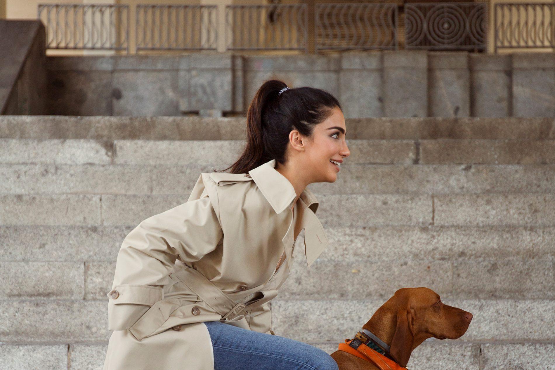 Jessica Kahawaty Blogger Margiela Trenchcoat Juan Bravo Madrid