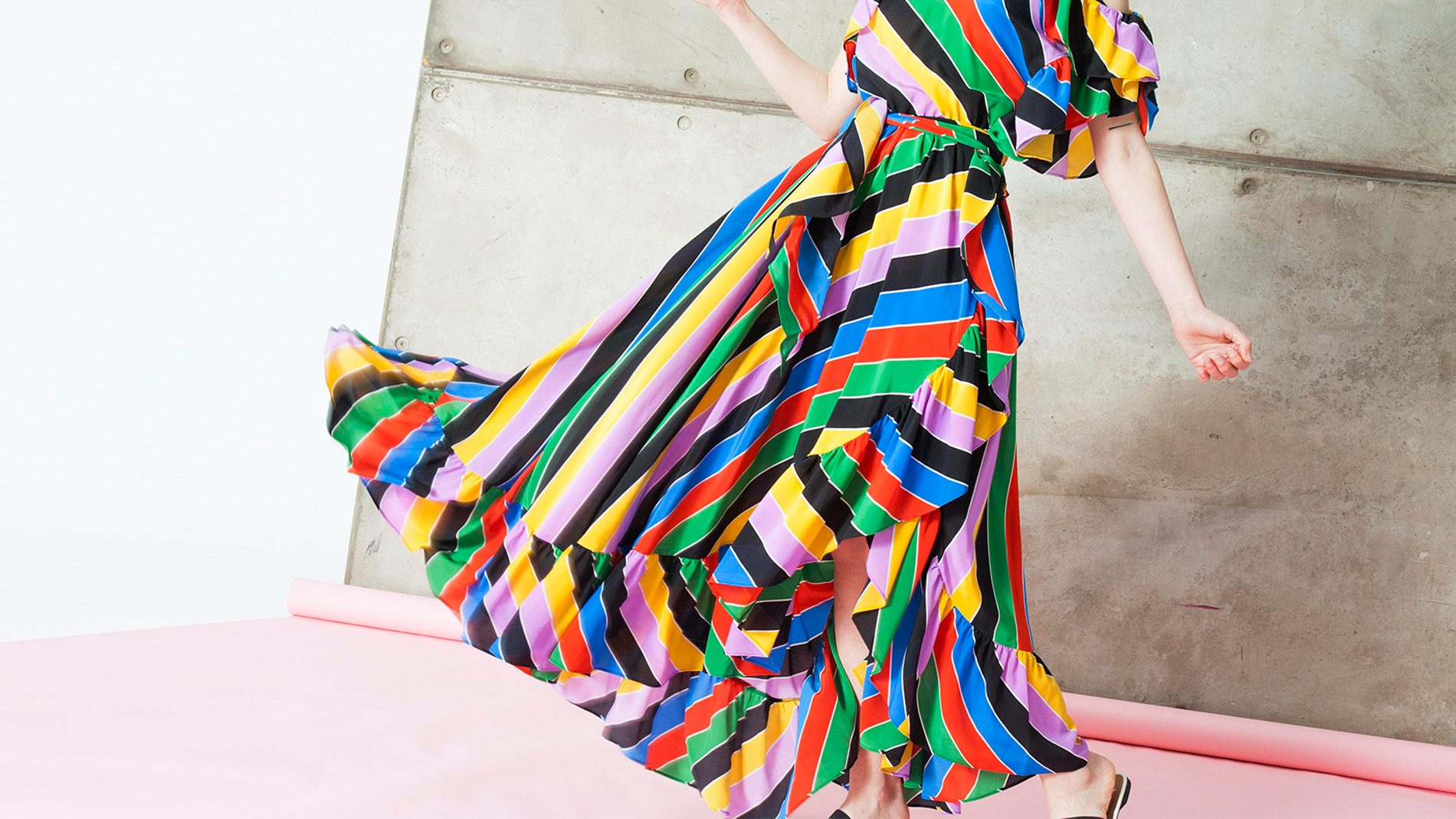 El Corte Inglés Designer Ready-To-Wear Philosophy Spring 2018 Stripes