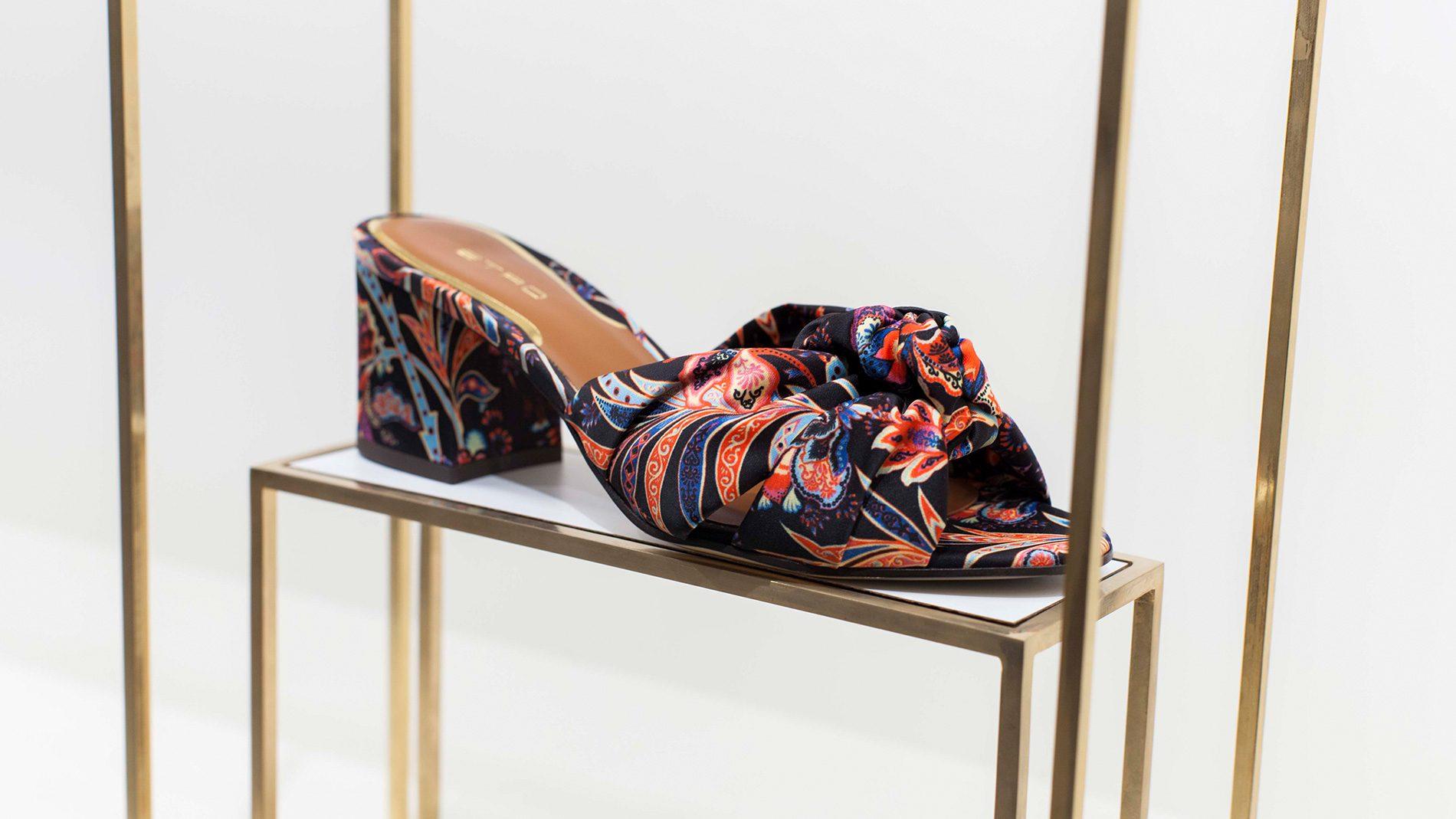 El Corte Inglés Designer Shoes Etro Spring 2018