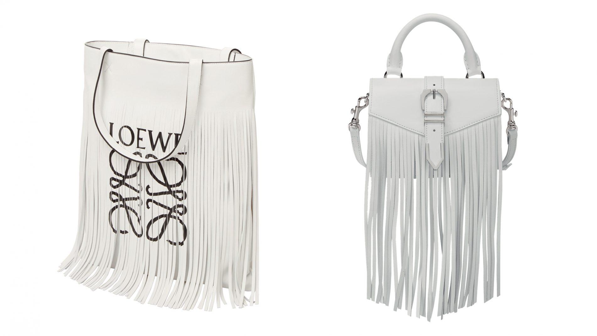 El Corte Inglés Designer Handbags Loewe Versus Fringe