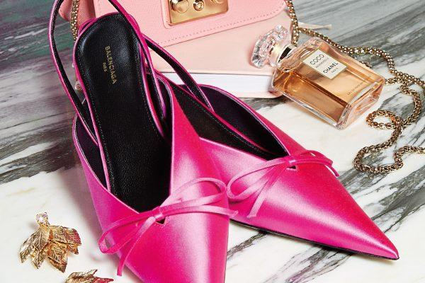 英格列斯设计师品牌:Balenciaga鞋履、Chanel香水