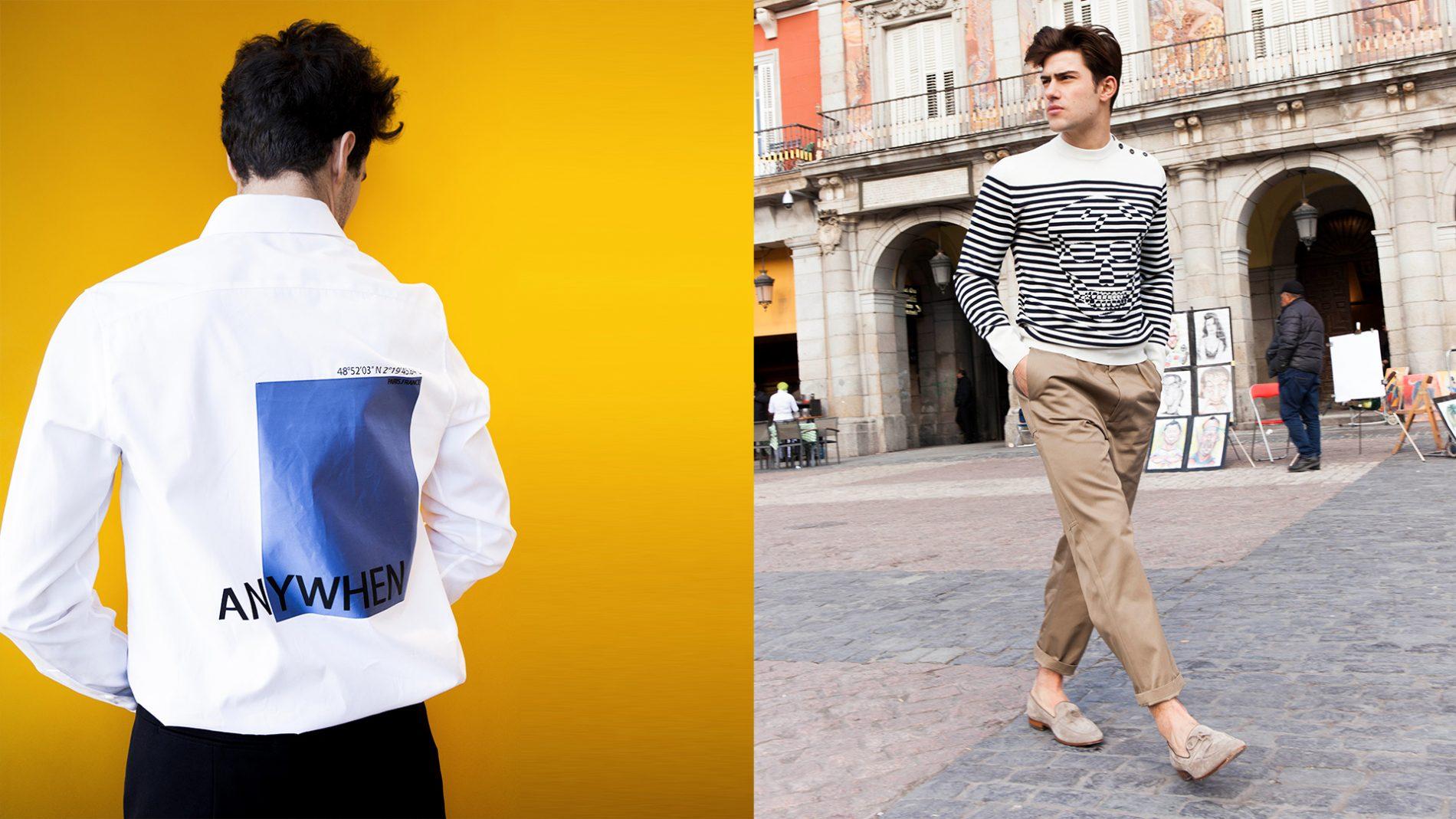 El Corte Inglés Menswear Alexander McQueen Valentino Tod's