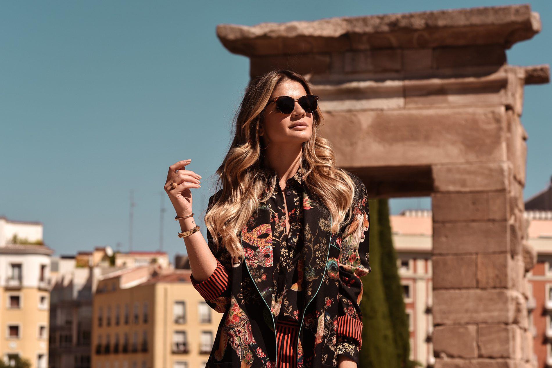 El Corte Inglés Madrid Spain Thassia Naves Etro Cartier