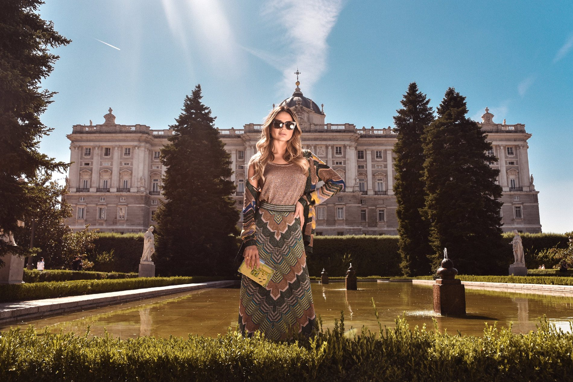 El Corte Inglés Madrid Spain Thassia Naves Missoni Louis Vuitton