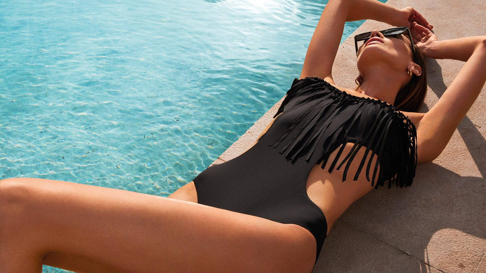 El Corte Inglés Designer Swimwear Fringe