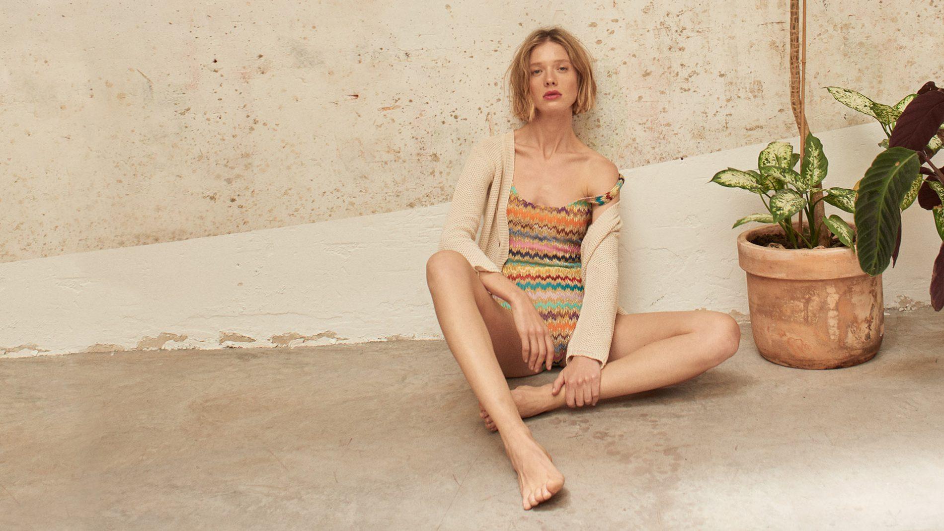 El Corte Inglés Designer Swimwear Missoni Mare Swimsuit