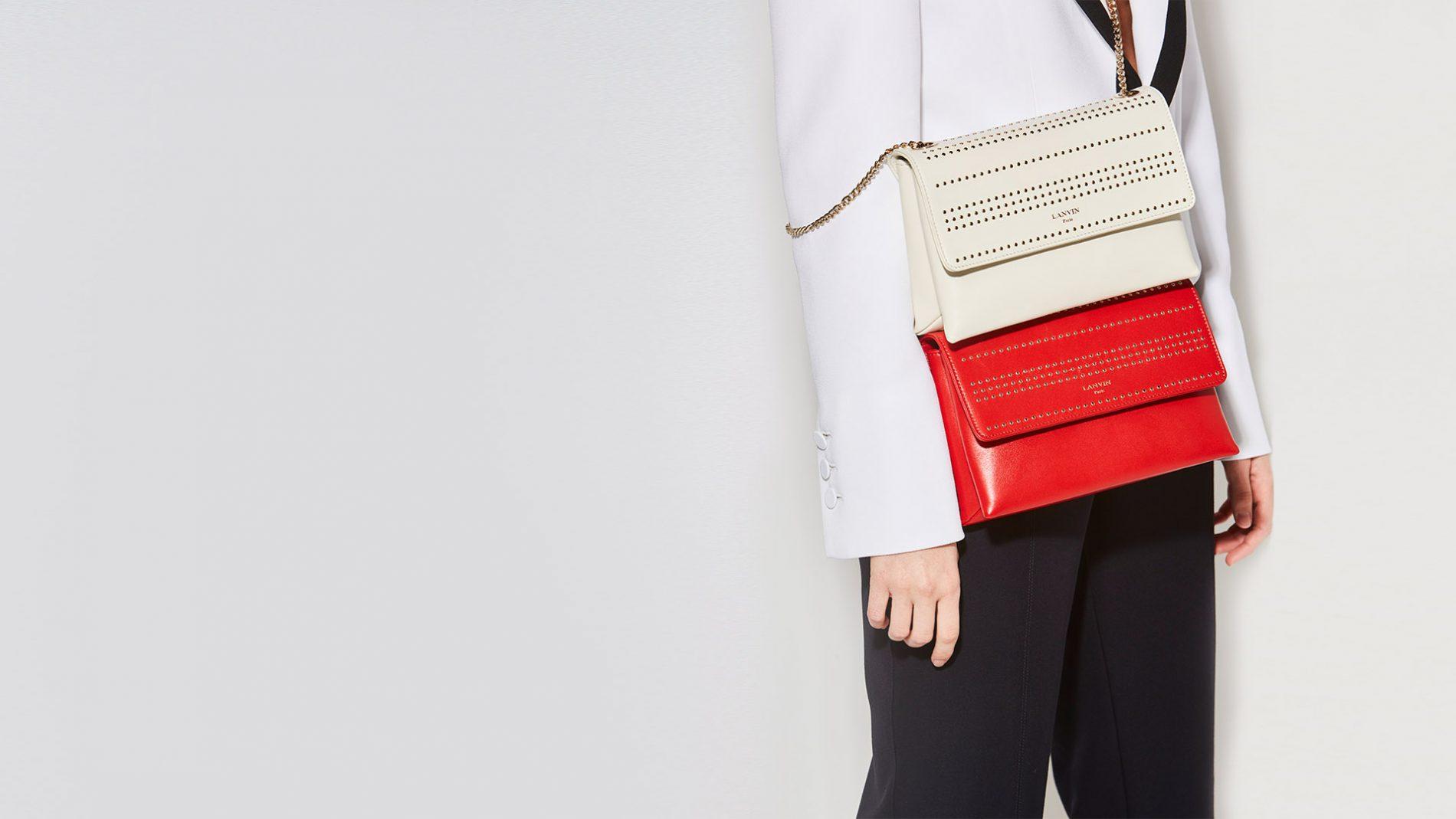 El Corte Inglés Designer Handbags Lanvin Clutch