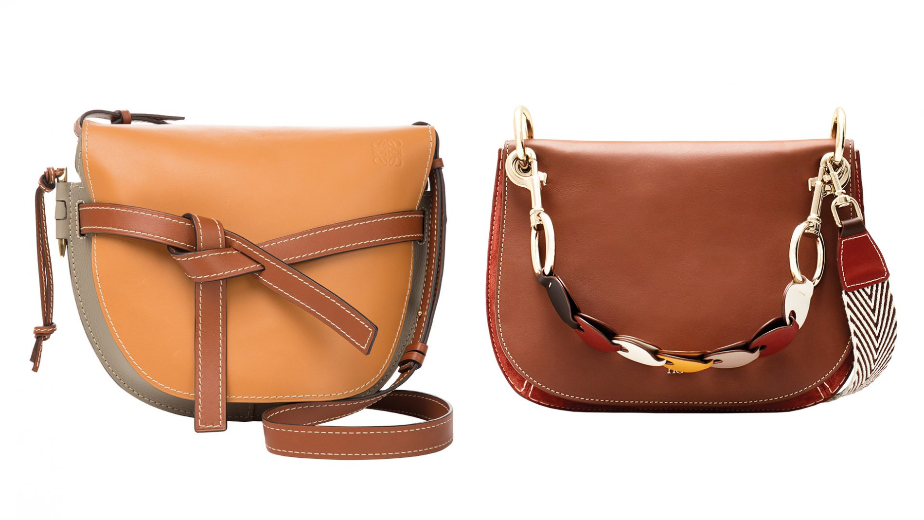 El Corte Inglés Designer Handbags Loewe Carolina Herrera