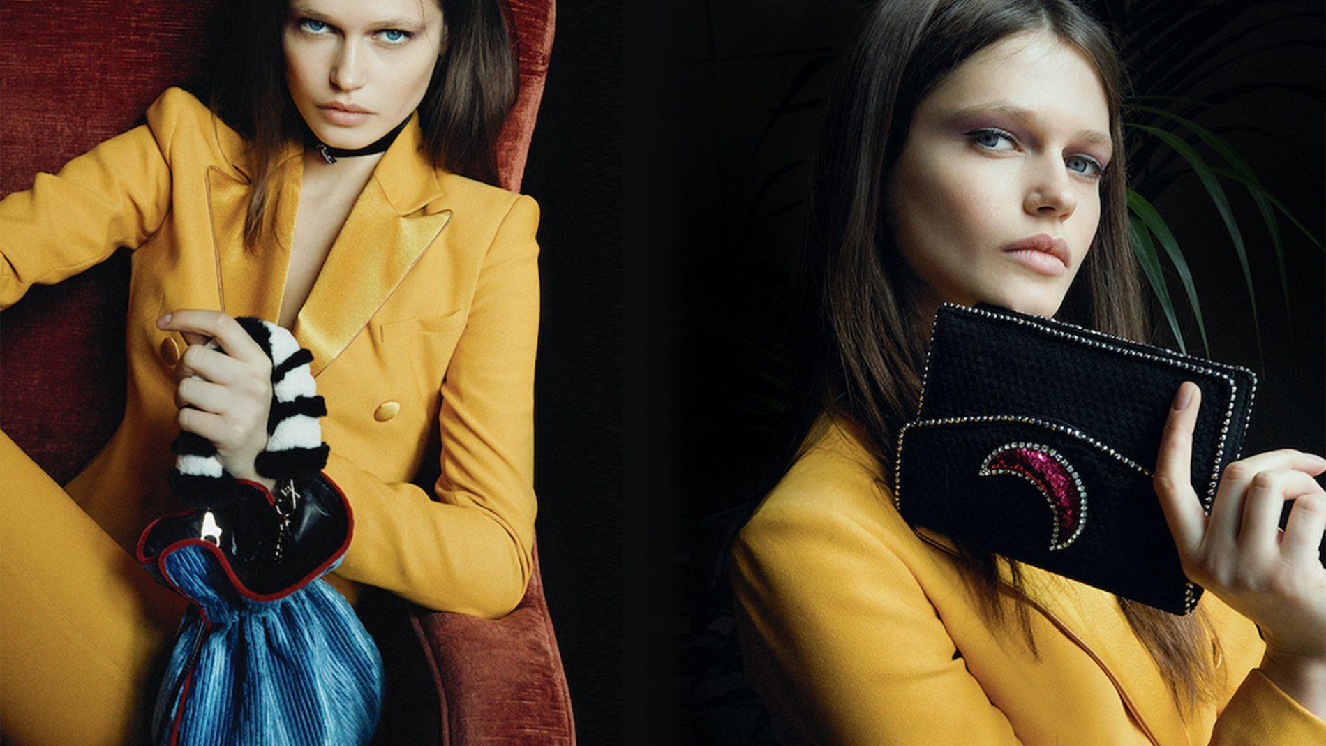 El Corte Inglés Designer Handbags Les Petits Joueurs Trilly Pouch