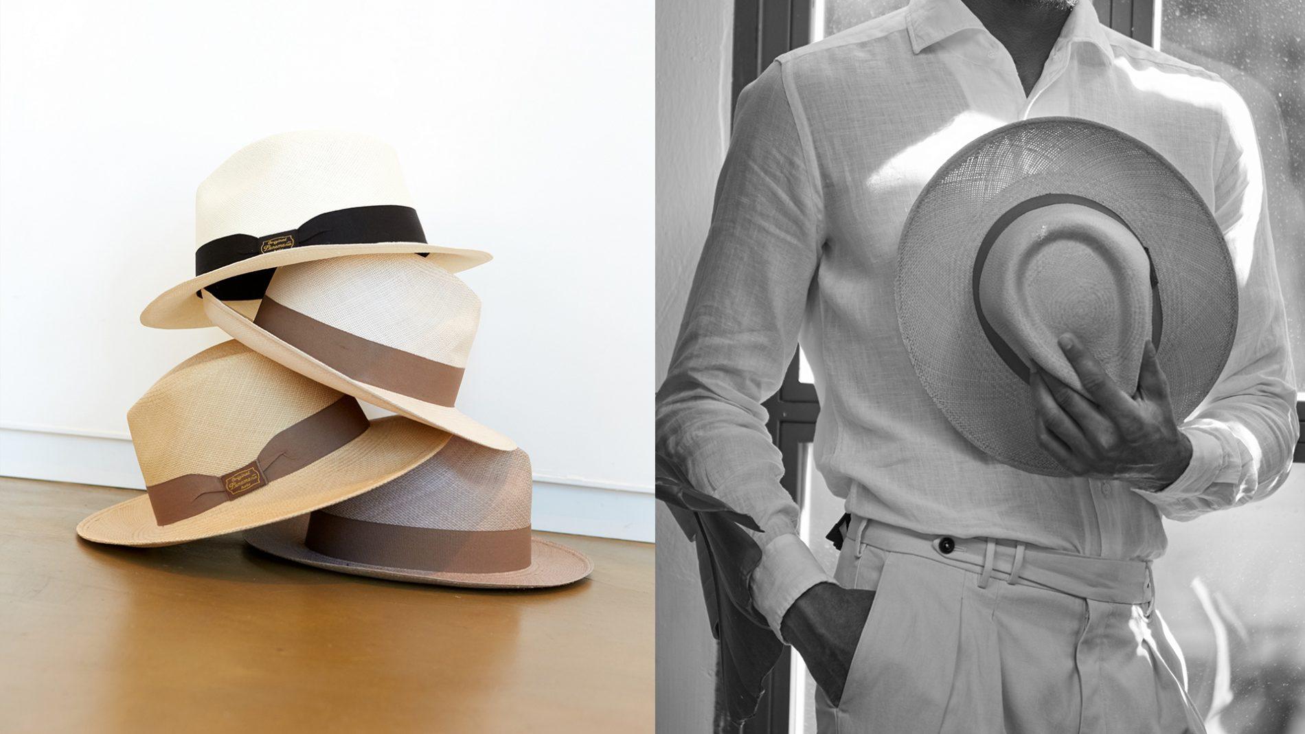 El Corte Inglés Designer Menswear Accessories Hats Panamania Corneliani