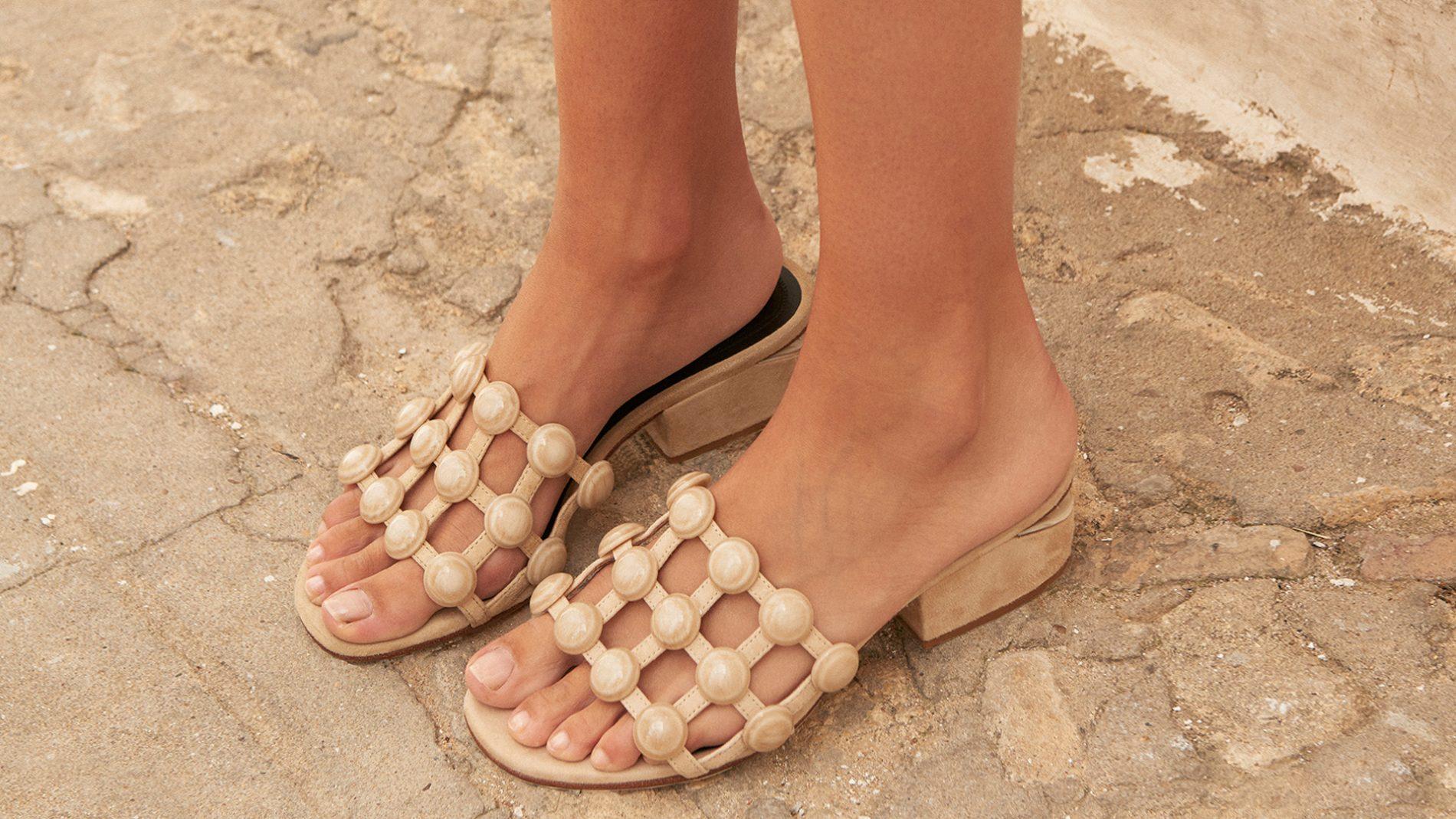 El Corte Inglés Designer Shoes Alexander Wang Slides
