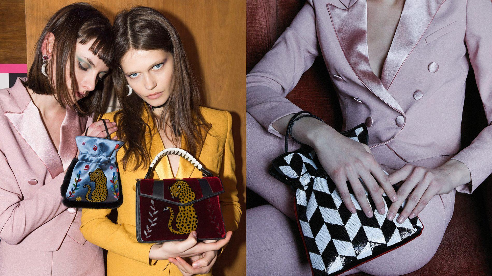 El Corte Inglés Designer Handbags Les Petits Joueurs Pixie Tote