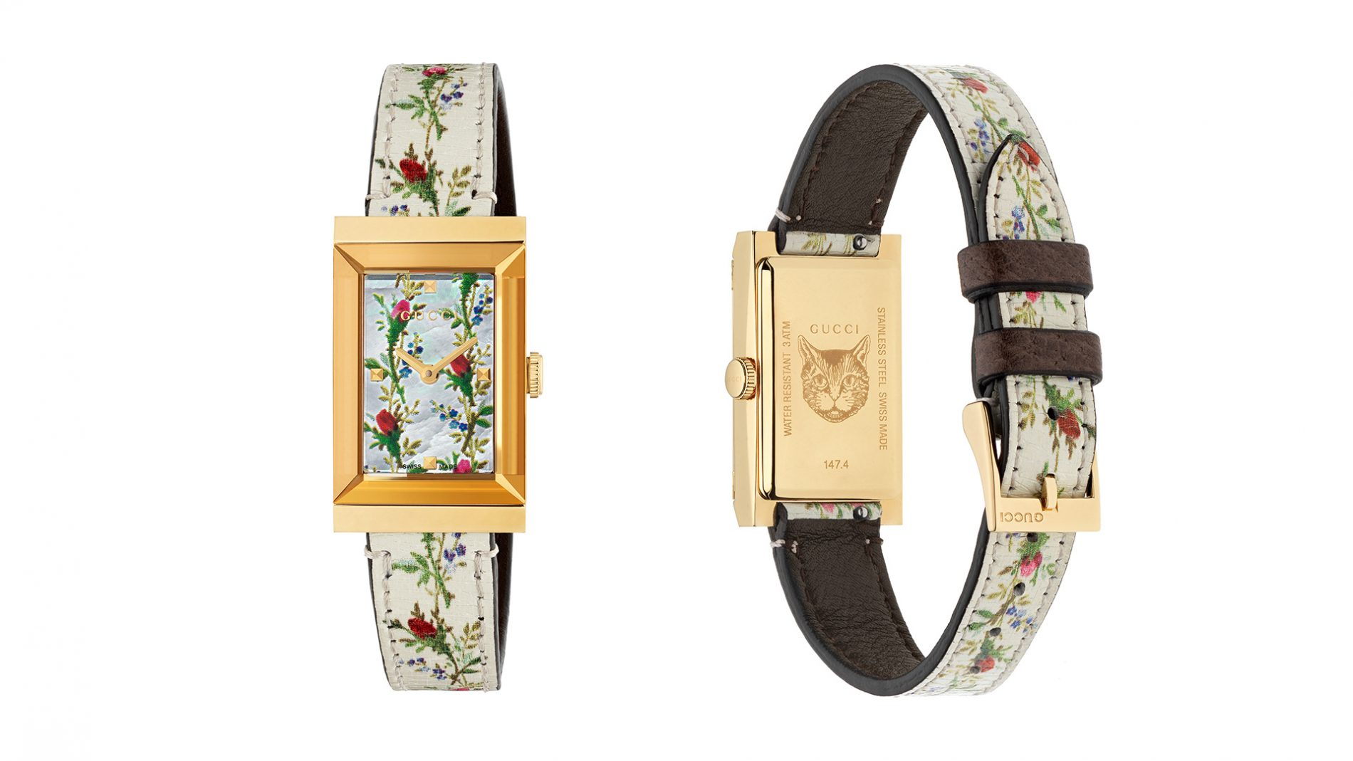 El Corte Inglés Watch Luxury Gucci Floral Print