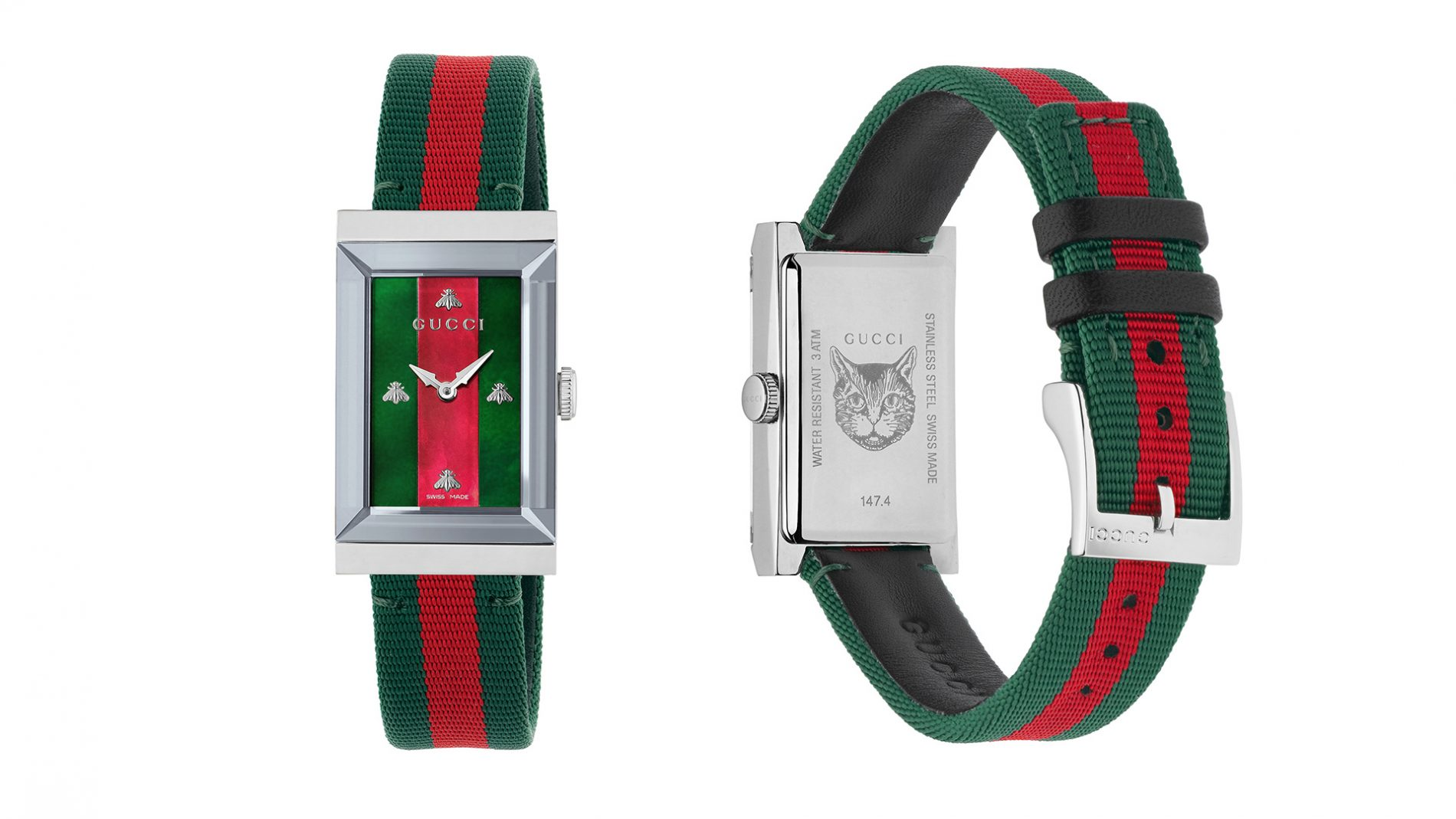El Corte Inglés Watch Luxury Gucci Classic Ribbon Band