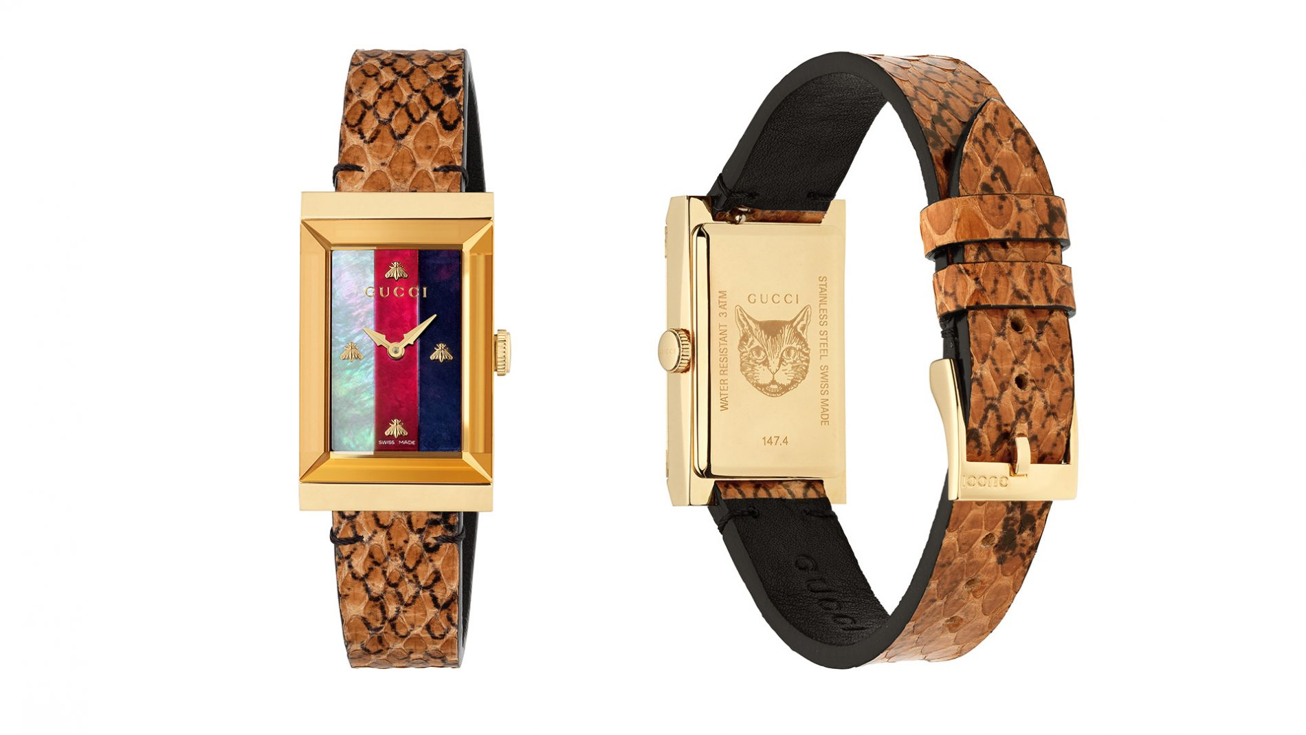 El Corte Inglés Watch Luxury Gucci Snakeskin