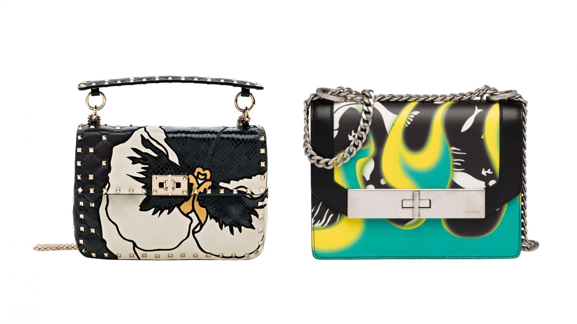 El Corte Inglés Designer Handbags Valentino Prada