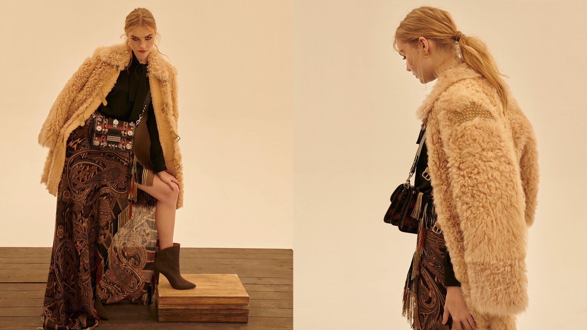 El Corte Inglés Ready-To-Wear Designer Handbags Shoes Etro Red Valentino Iro Moschino