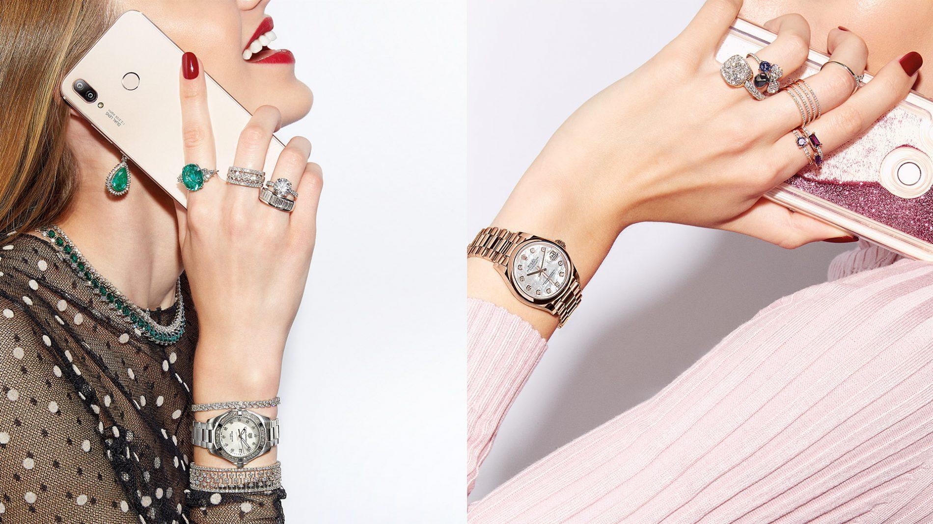 El Corte Inglés Lujo Diseñador Joyería Tiffany Rolex Tag Heuer Pomellato