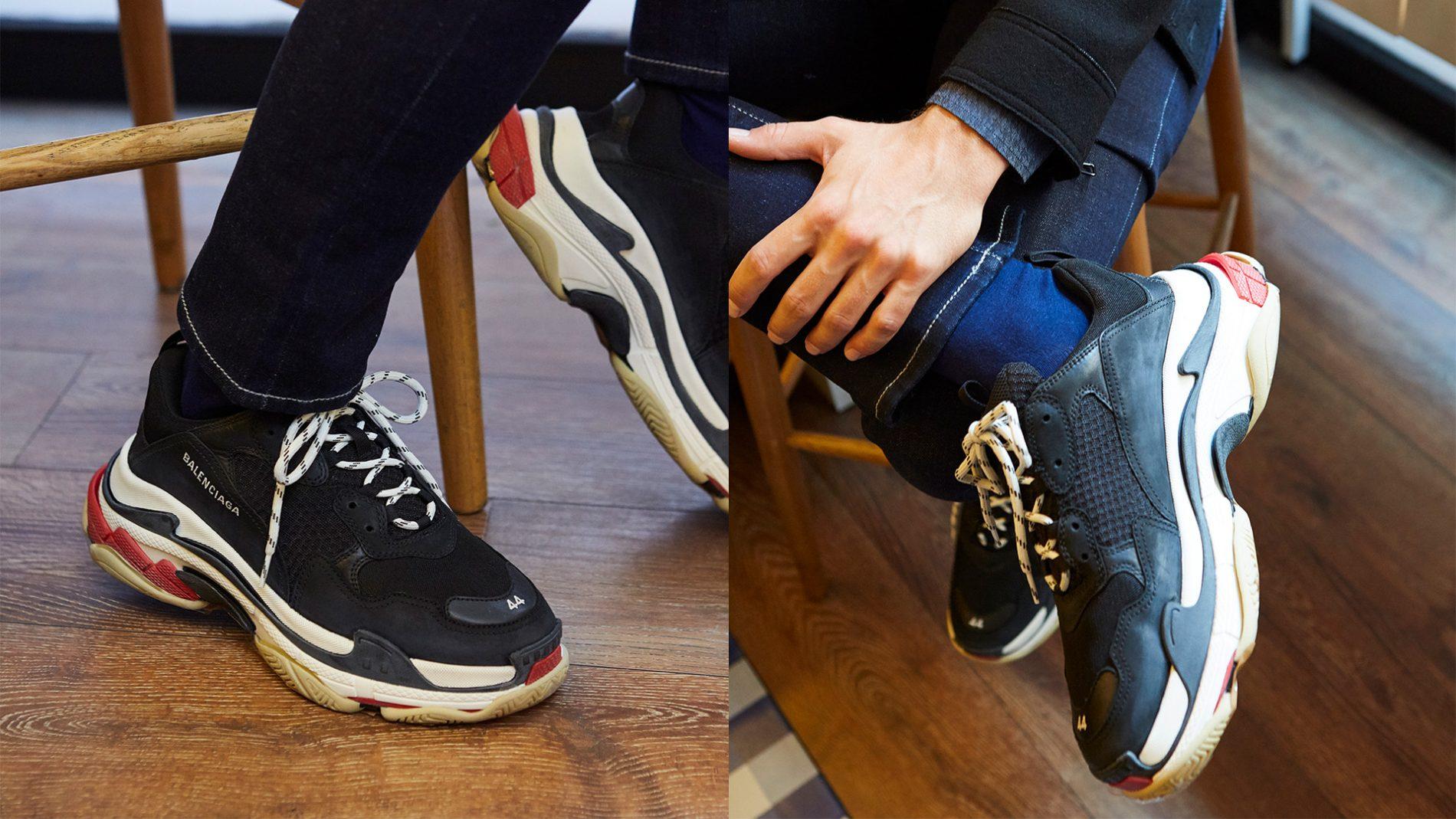 英格列斯男装,运动鞋,Balenciaga