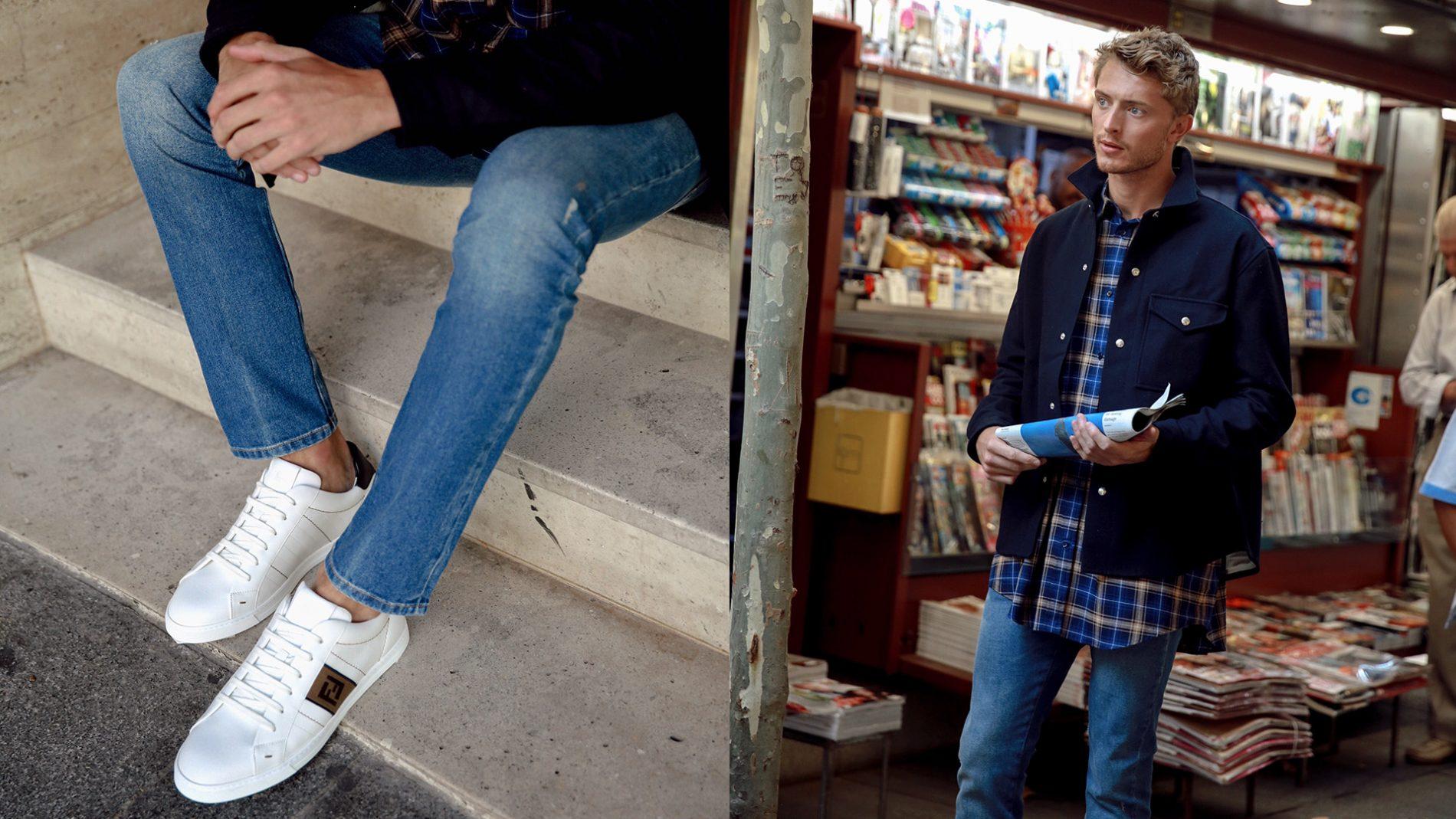 El Corte Inglés Menswear Sneakers Ami Fendi Balenciaga Valentino