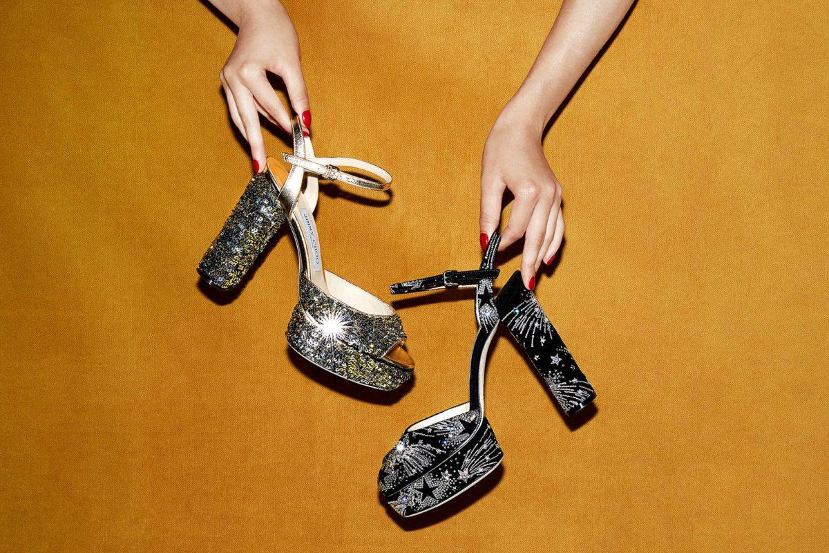 El Corte Inglés Designer Shoes Jimmy Choo Platform Sandals