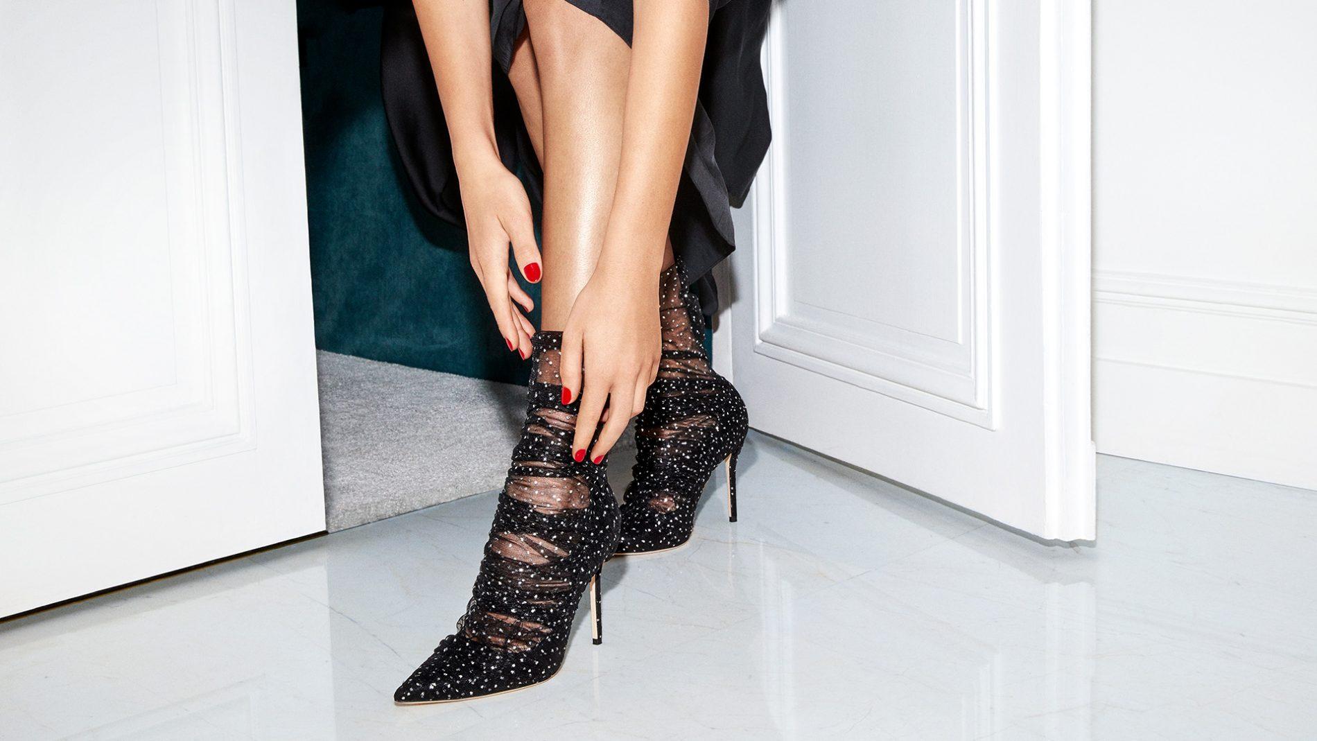 El Corte Inglés Designer Shoes Jimmy Choo Booties