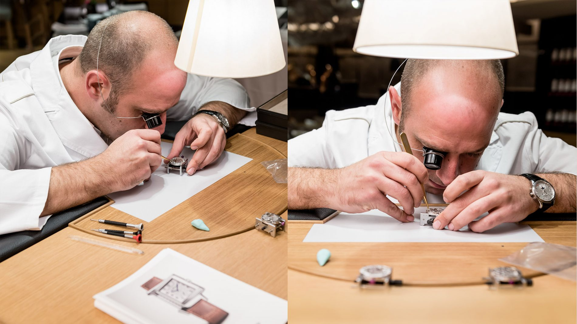 El Corte Inglés Designer Watch Swiss Jaeger-LeCoultre