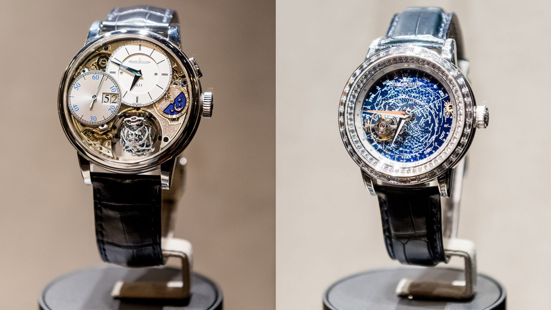 El Corte Inglés Diseñador Relojes Lujo Chronograph Jaeger-LeCoultre