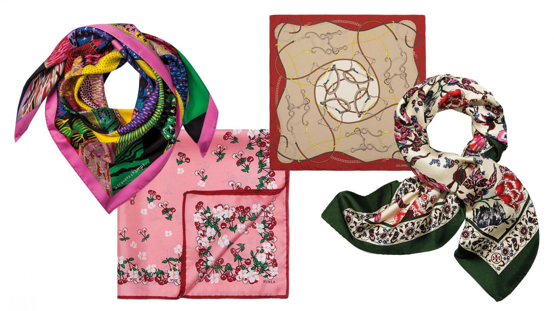 El Corte Inglés Diseñador Pañuelo Accesorios Tory Burch Hermès Furla Gloria Ortiz