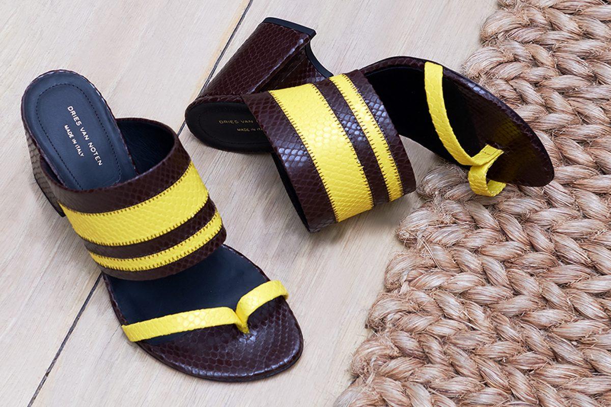El Corte Inglés Designer Shoes Dries Van Noten