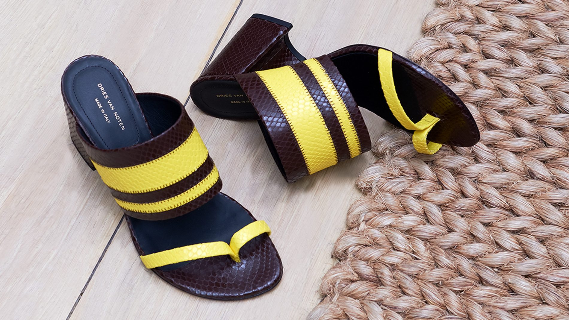 El Corte Inglés Diseñador Zapatos Dries Van Noten