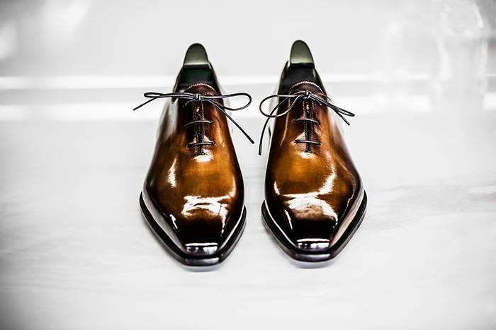 Zapatos elegantes hombre lujo
